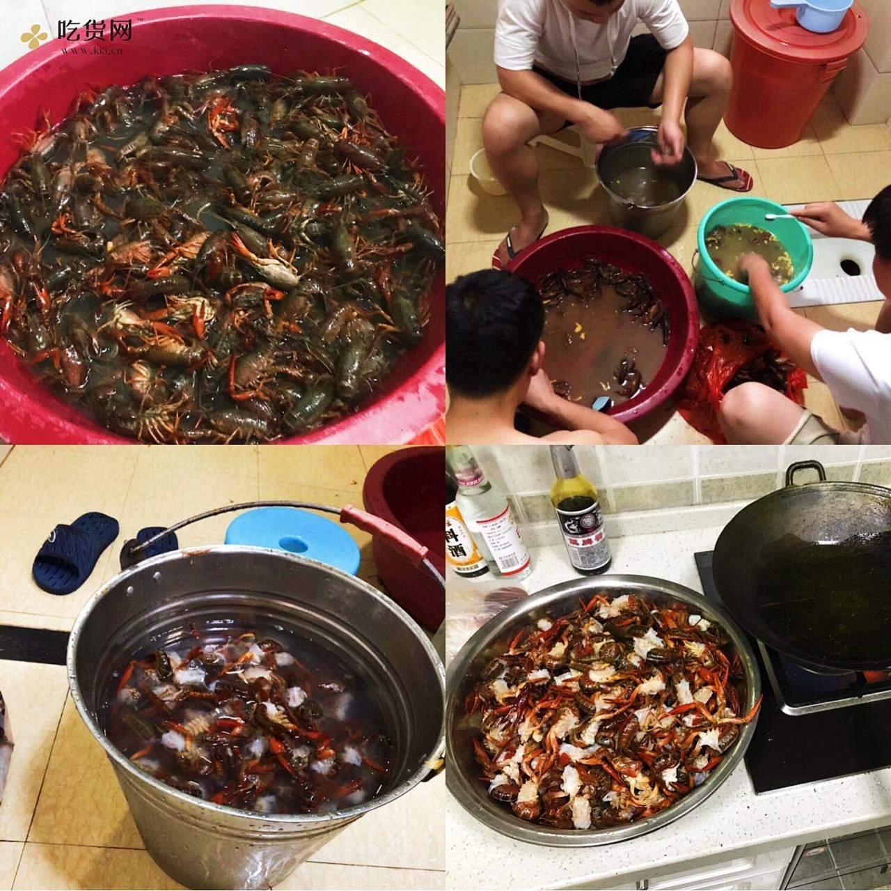麻辣小龙虾(#湘潭篇)的做法 步骤2