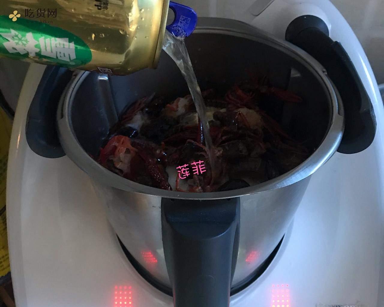 35分钟川味麻辣小龙虾(小美版)的做法 步骤4