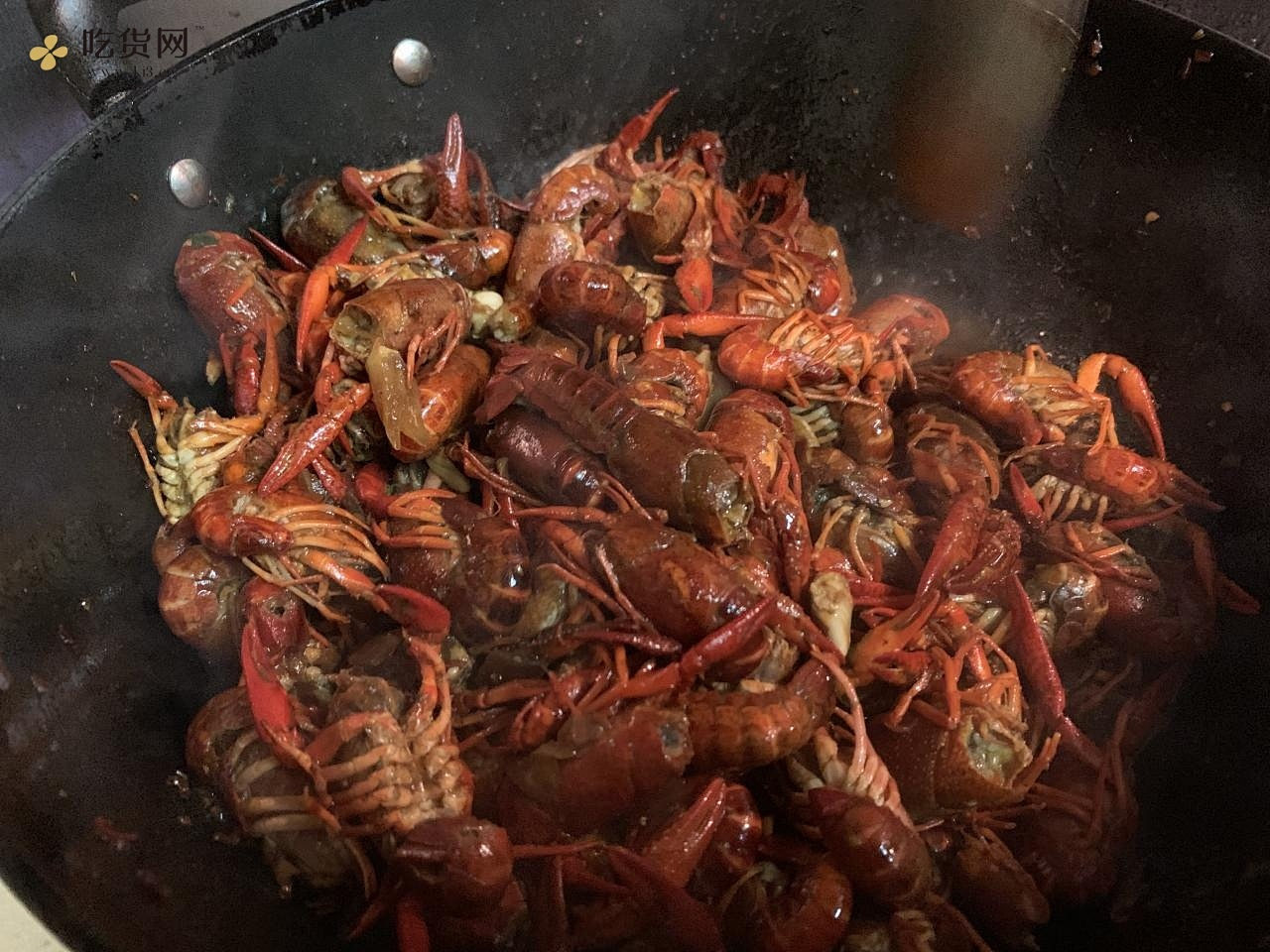 超香麻辣小龙虾🦞的做法 步骤4