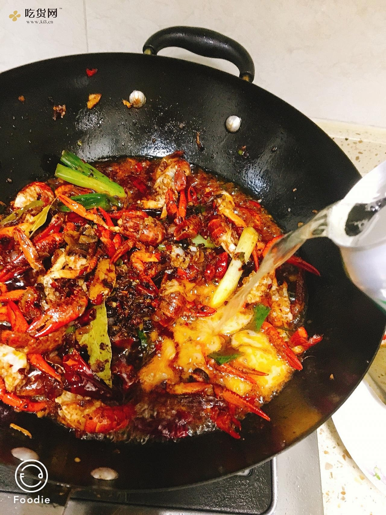 麻辣小龙虾(独创四川口味)的做法 步骤9