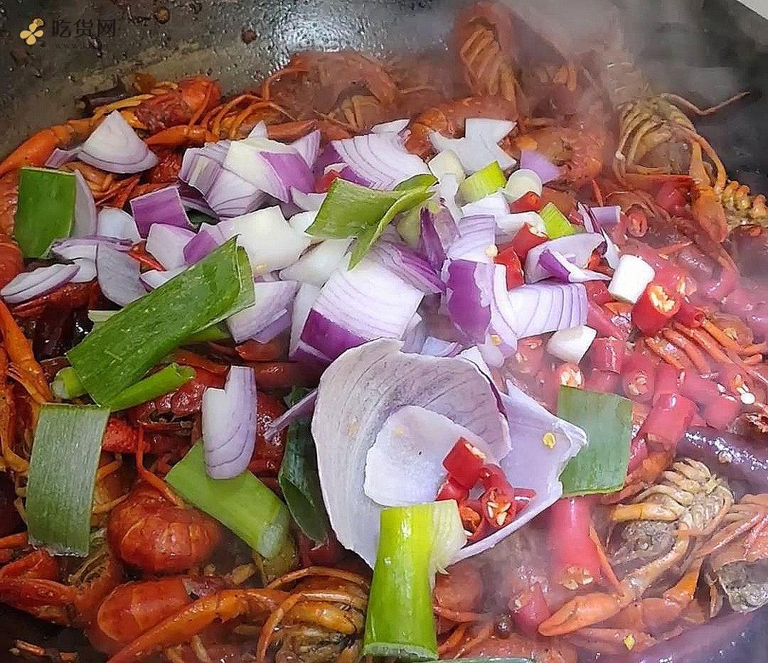 张立-麻辣小龙虾的做法 步骤7