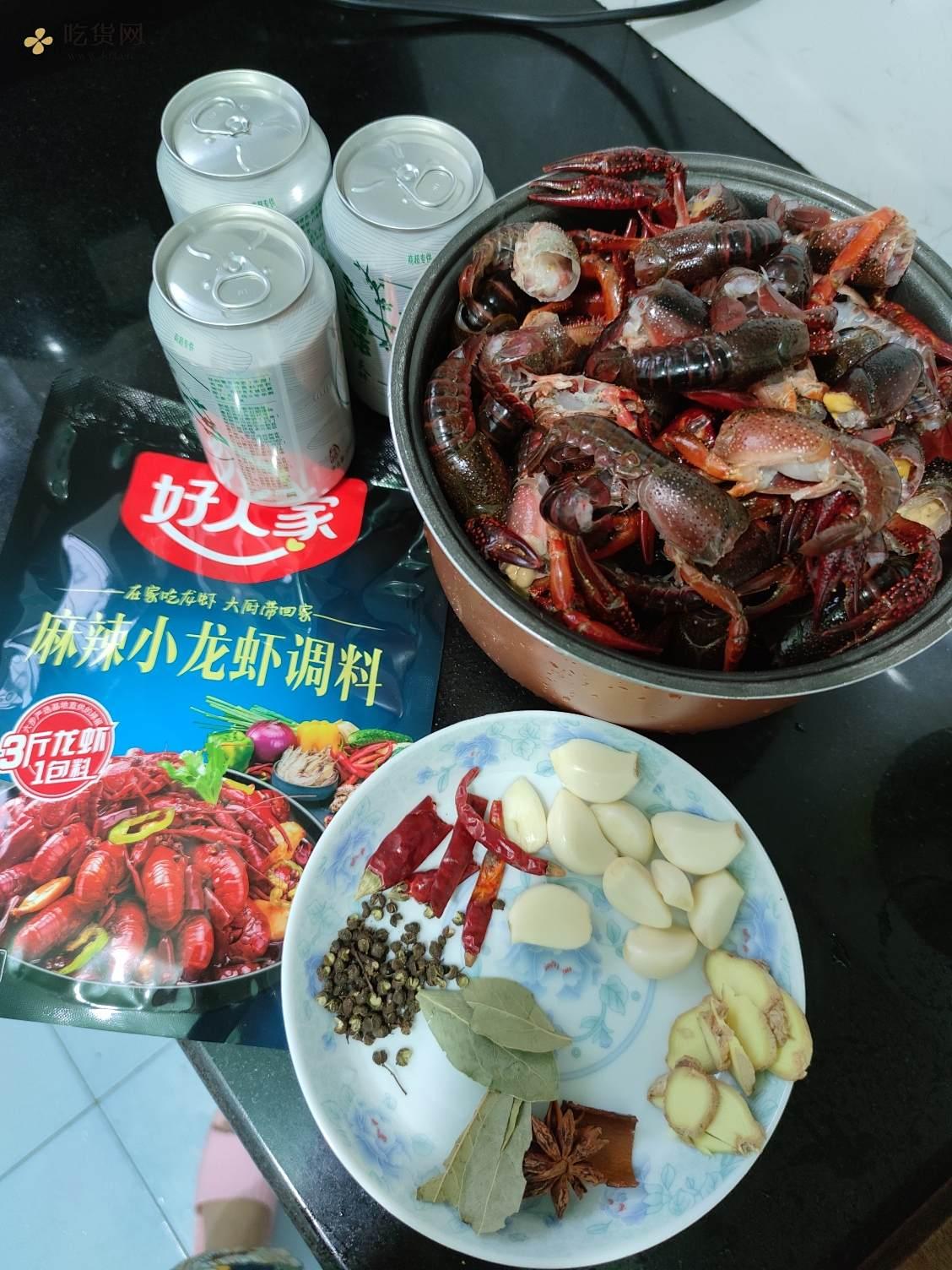 🤩简单麻辣小龙虾(从洗虾开始)的做法 步骤5