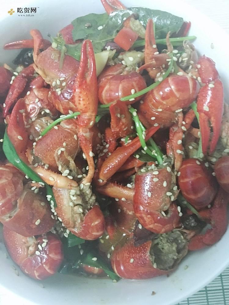 小白麻辣小龙虾做法的做法 步骤6