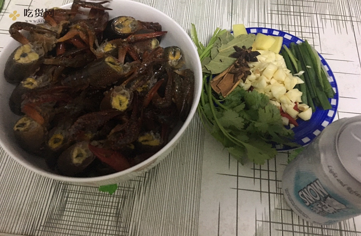 小白麻辣小龙虾做法的做法 步骤3