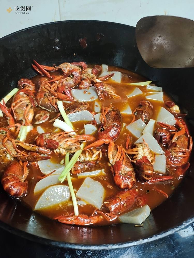 光盘麻辣小龙虾的做法 步骤6
