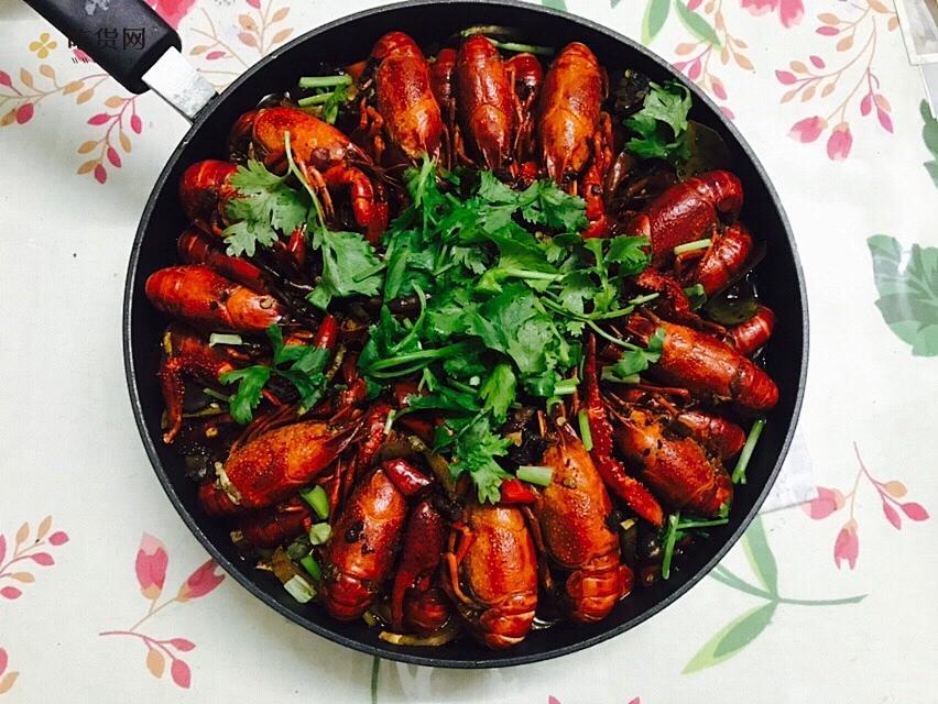 麻辣小龙虾焖面的做法 步骤4