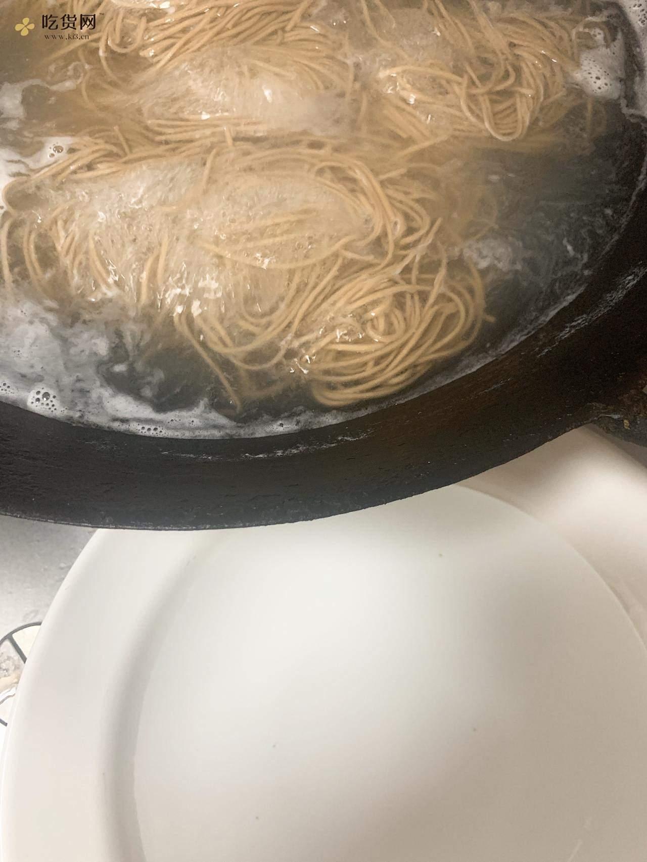 鸡丝荞麦凉面(减脂餐)的做法 步骤8