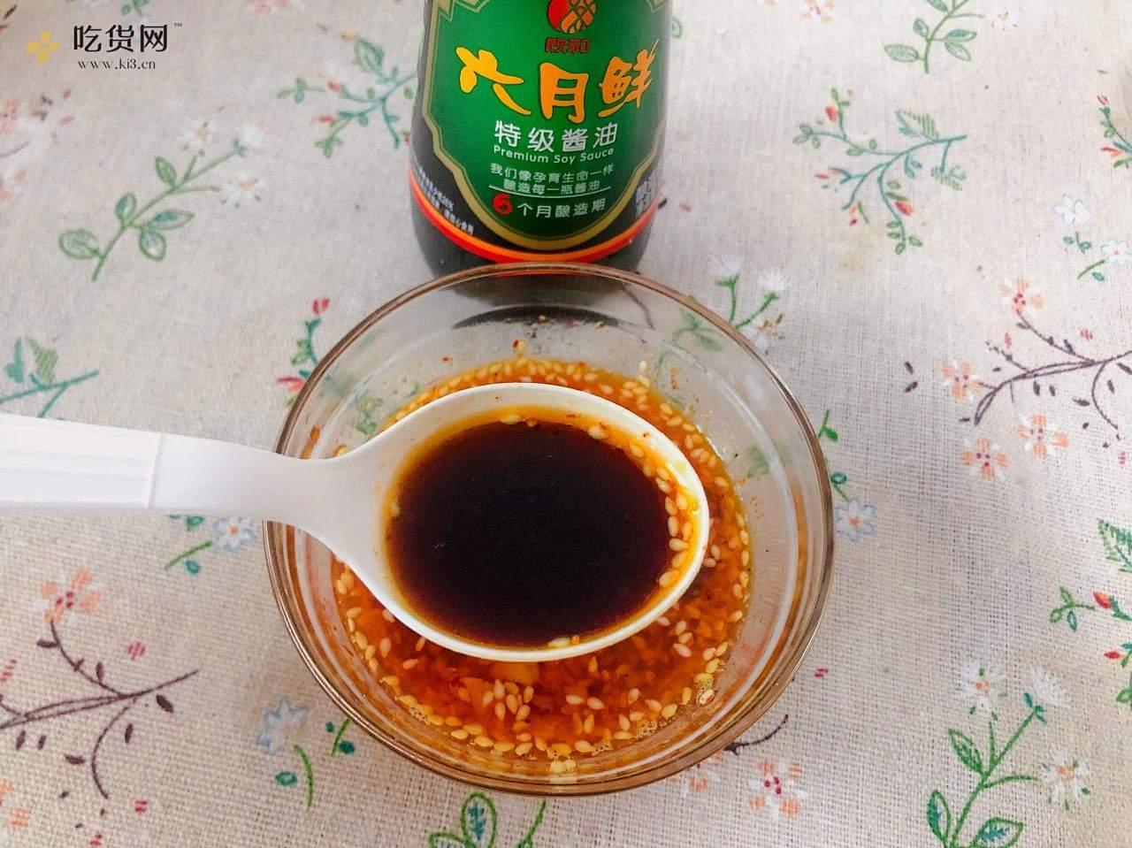 鸡丝凉面,超级开胃的一道美食的做法 步骤5
