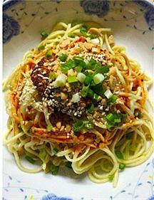 『四川凉面』——夏季开胃小吃的做法 步骤5
