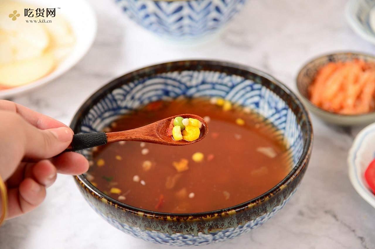 番茄彩蔬凉面的做法 步骤11