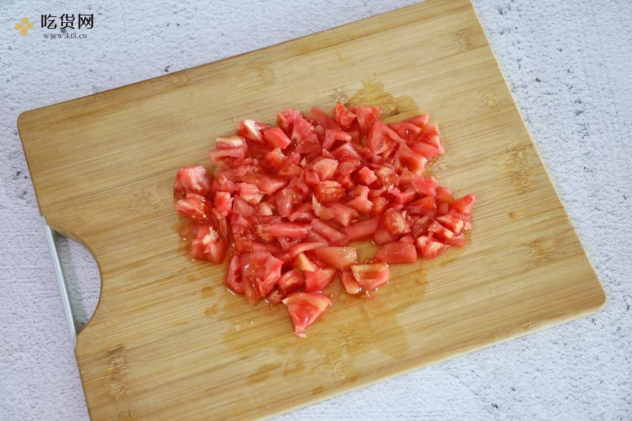 番茄火腿凉面的做法 步骤5