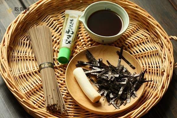 日式荞麦凉面的做法 步骤1