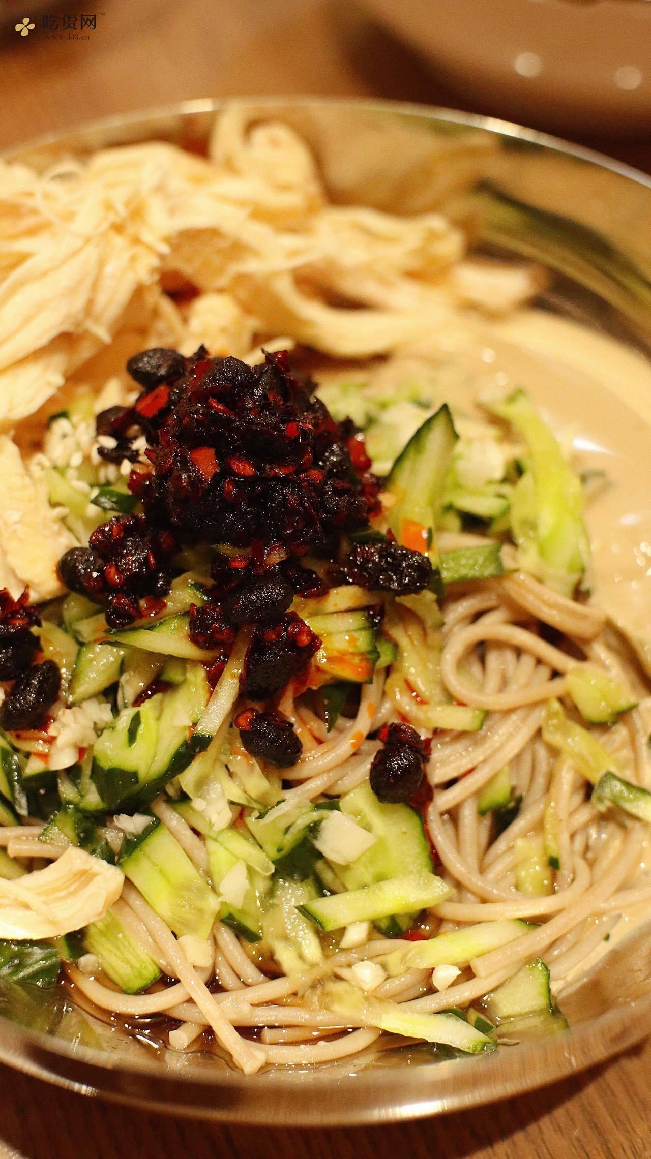 麻酱鸡丝荞麦凉面(好吃不胖)的做法 步骤6
