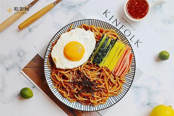 韩式拌面的做法步骤图,韩式拌面怎么做好吃插图
