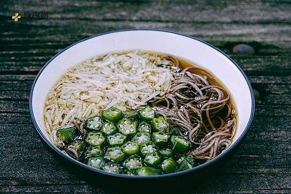 日式金针秋葵凉面(kuro酱版)的做法步骤图缩略图