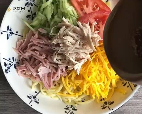 超清新开胃的健康日式凉面的做法 步骤5