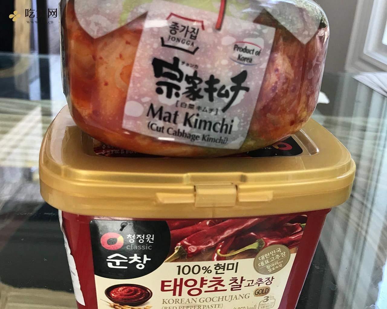 清爽开胃韩式拌饭(健康减脂糙米)拌凉面(荞麦面)的做法 步骤3