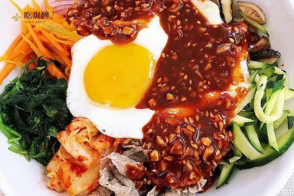清爽开胃 韩式拌饭(健康减脂糙米)拌凉面(荞麦面)的做法步骤图插图