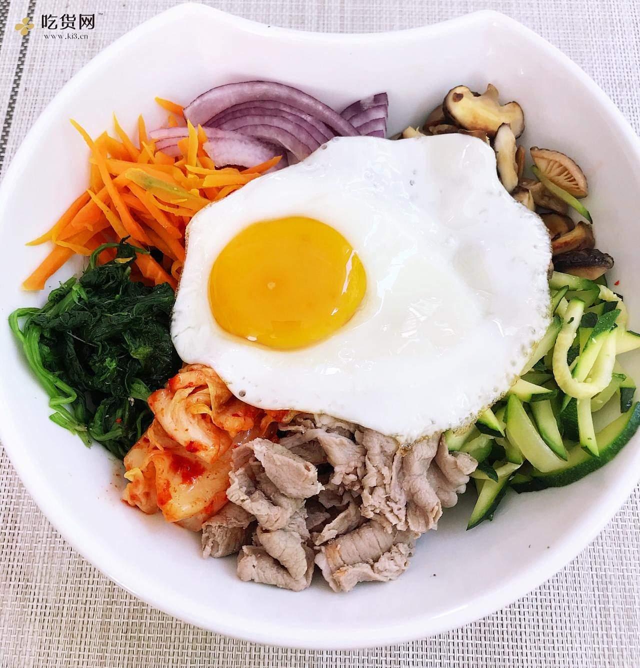 清爽开胃韩式拌饭(健康减脂糙米)拌凉面(荞麦面)的做法 步骤2