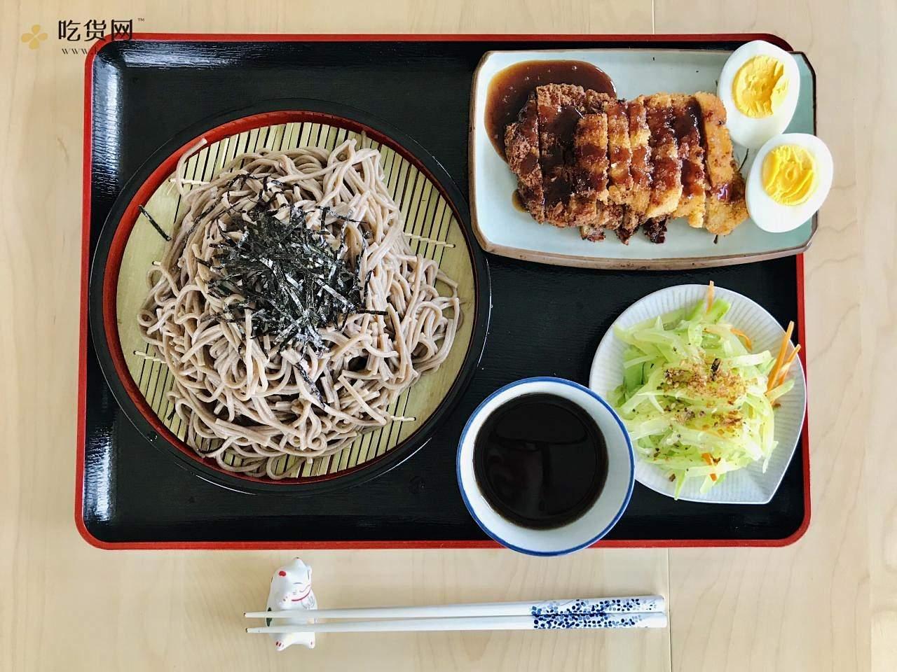 日式荞麦凉面 套餐 夏日的清凉美味的做法 步骤4