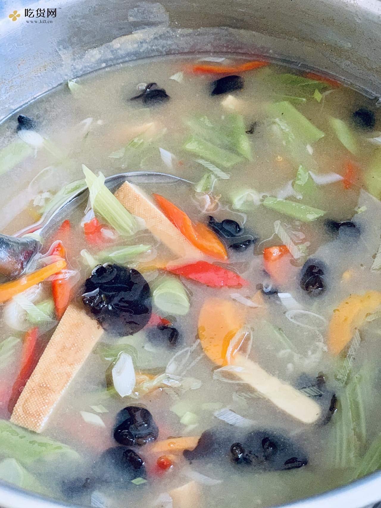 兰州人的凉面素卤子,一口锅就搞定,夏天来一碗,满福滴很!的做法 步骤4