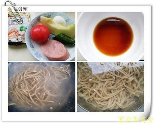 韩式泡菜凉面的做法 步骤3