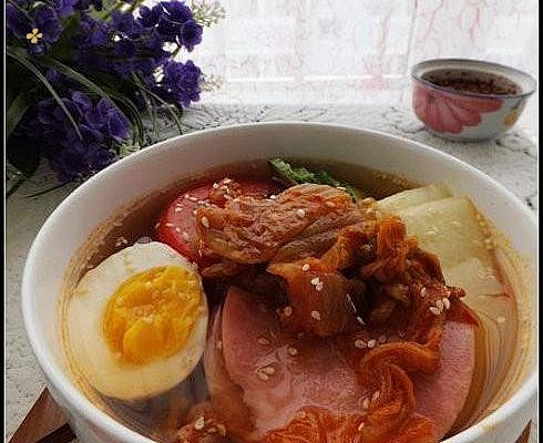 韩式泡菜凉面的做法步骤图,怎么做好吃缩略图