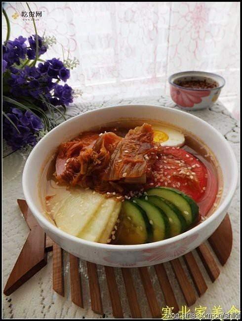 韩式泡菜凉面的做法 步骤4