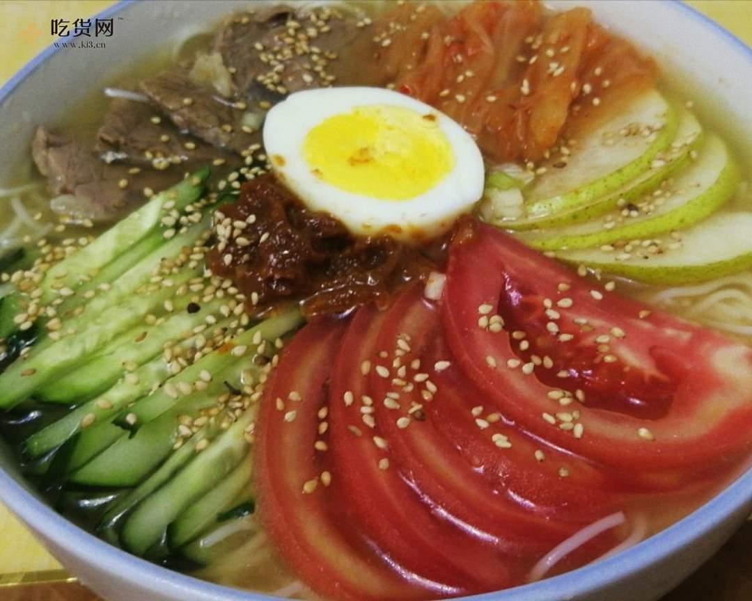 保姆级教程,酸甜爽口的朝鲜冷面,消暑开胃的做法 步骤5