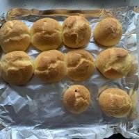 一次就成功的奶油泡芙的做法 步骤10