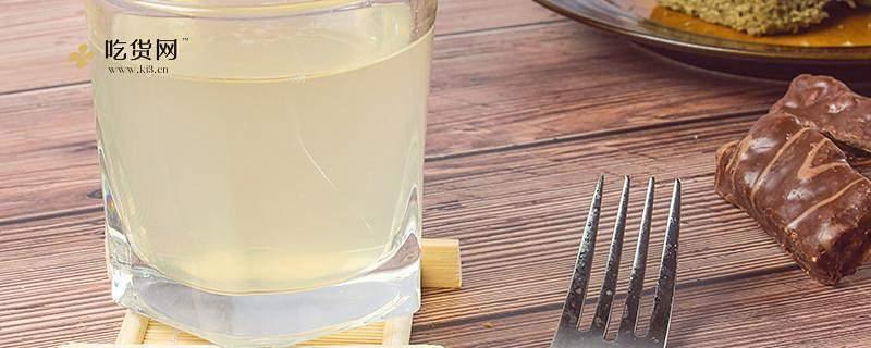 蜂蜜柠檬水如何冲,蜂蜜柠檬水用开水或是温开水插图