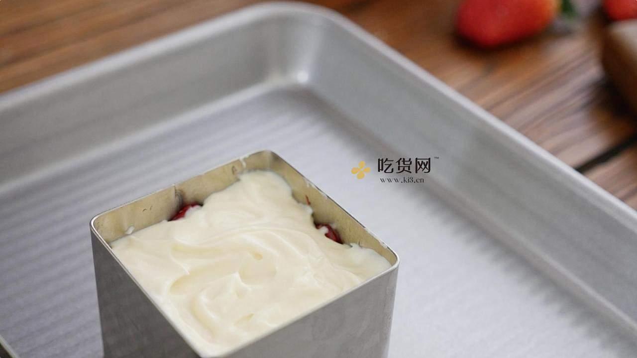 【附视频】草莓芝士蛋糕的做法 步骤19
