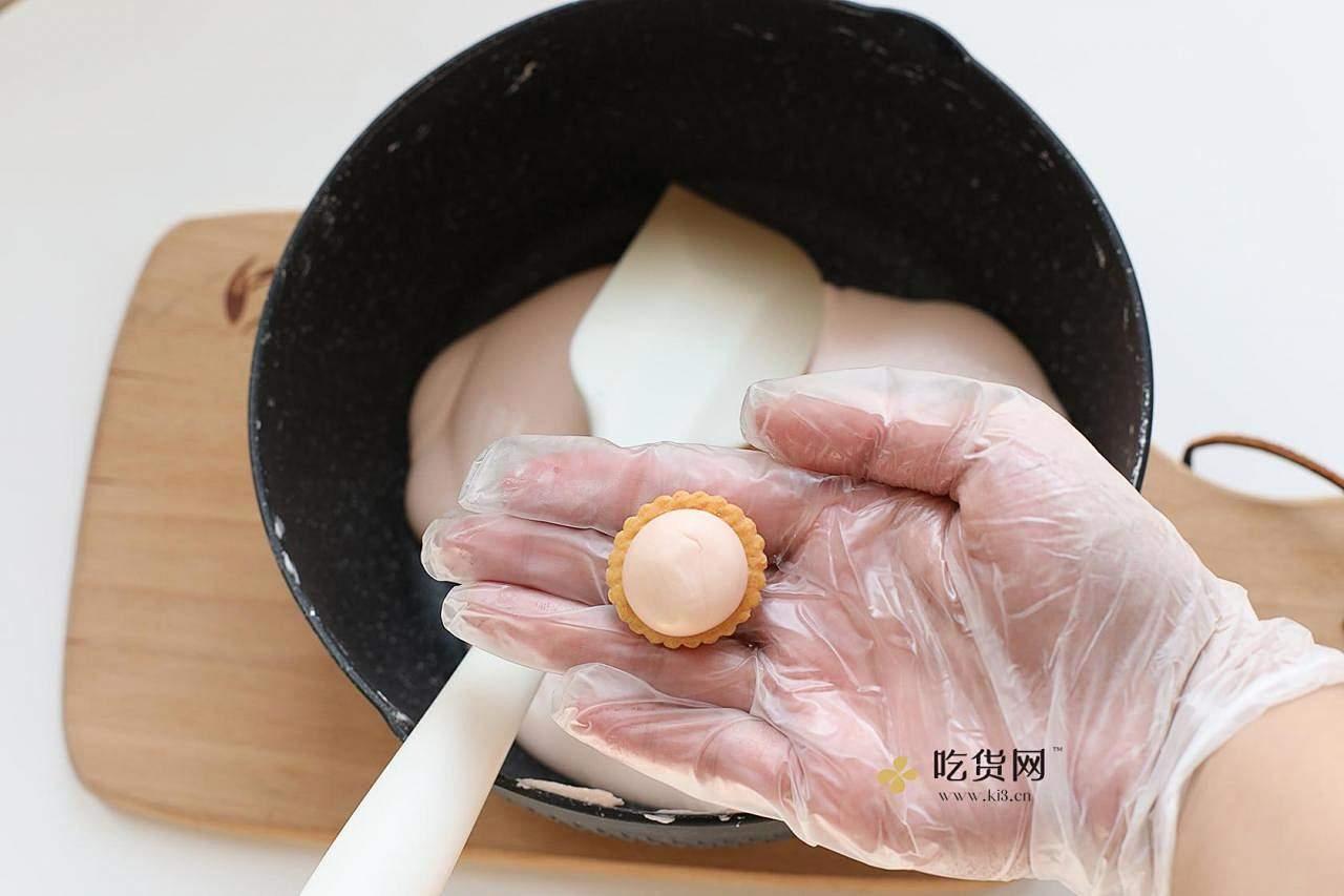 超简单易上手棉花糖版汉堡牛轧饼&雪花酥的做法 步骤9