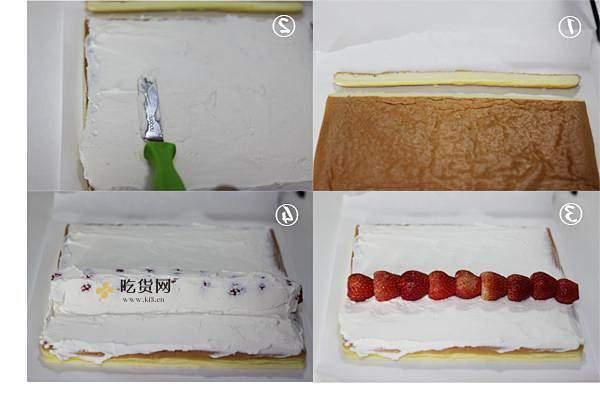 草莓卷的做法 步骤22