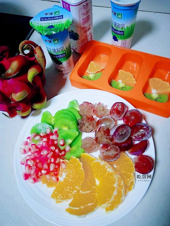 水果酸奶雪糕的做法 步骤1