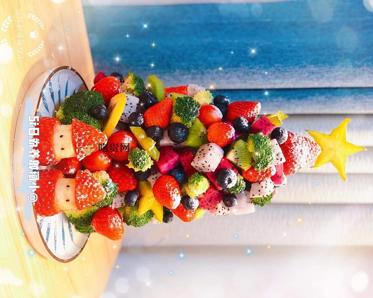 【🎄水果圣诞树】的做法 步骤6