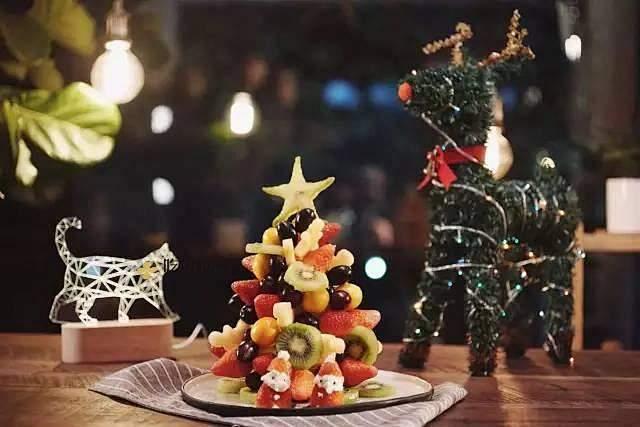 【水果圣诞树】的做法 步骤2