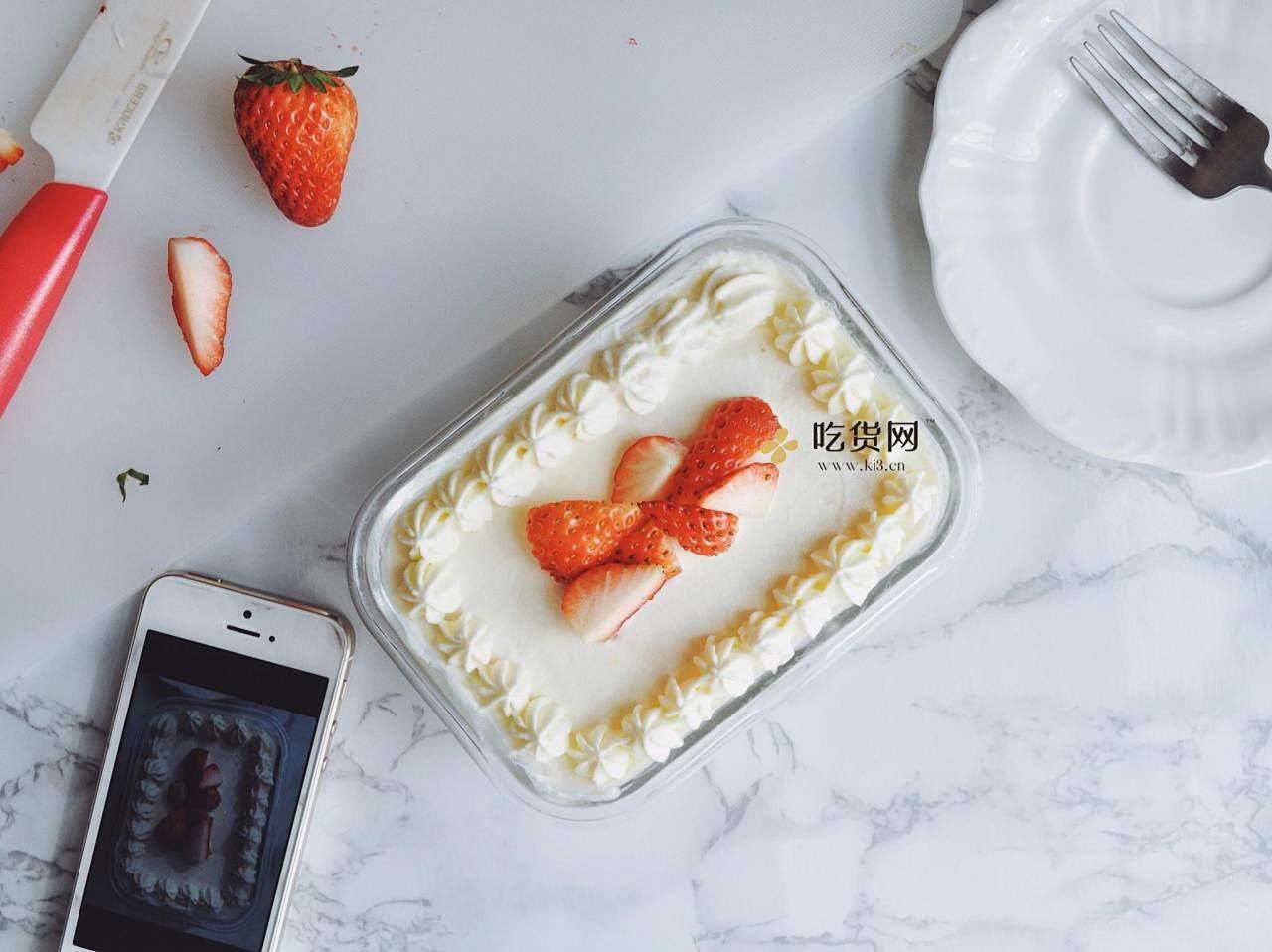 盒子吐司伪蛋糕的做法 步骤10