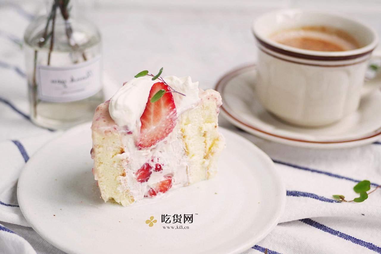 边吃边瘦的燃脂草莓蛋糕的做法 步骤17