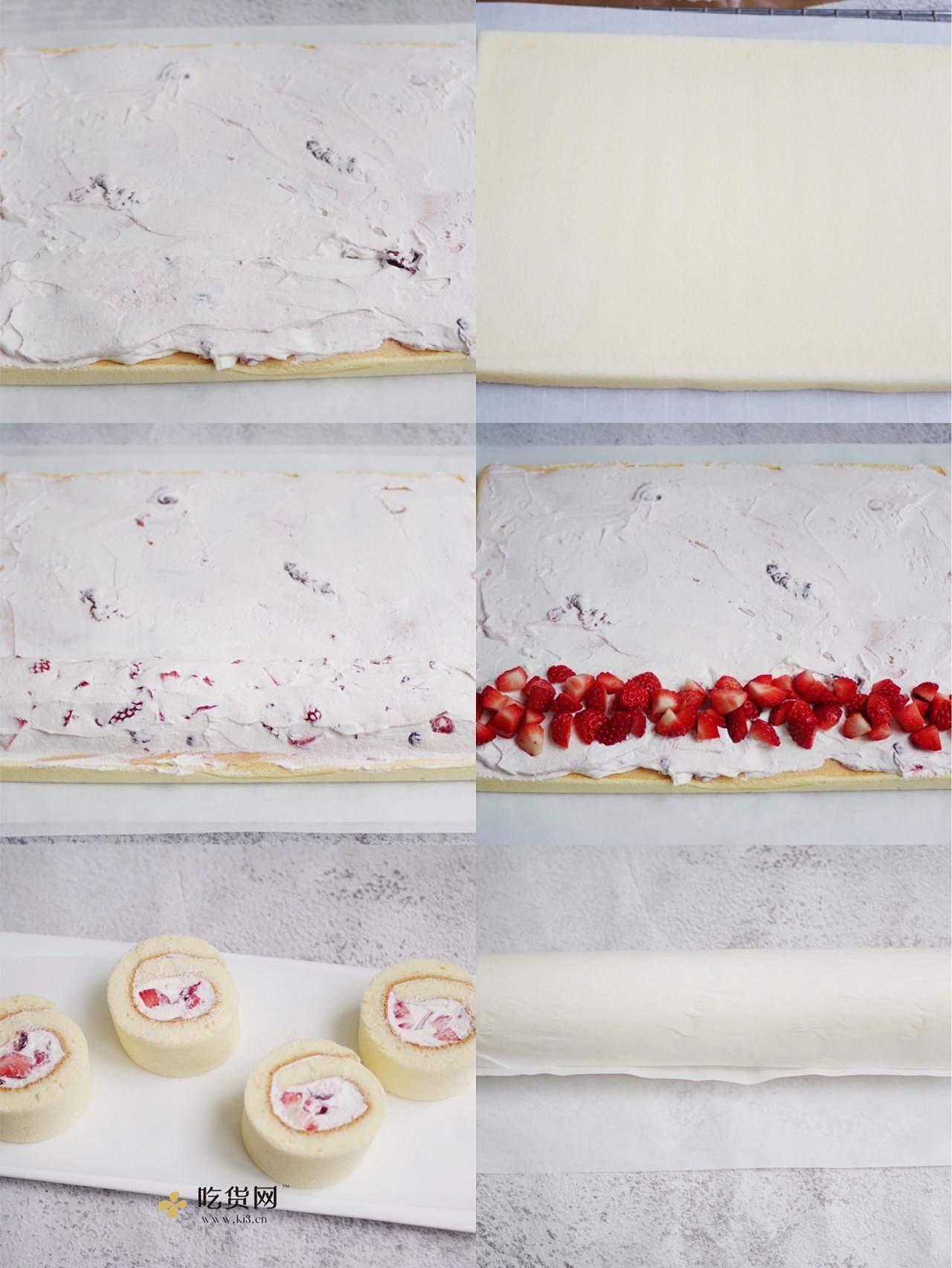 边吃边瘦的燃脂草莓蛋糕的做法 步骤7