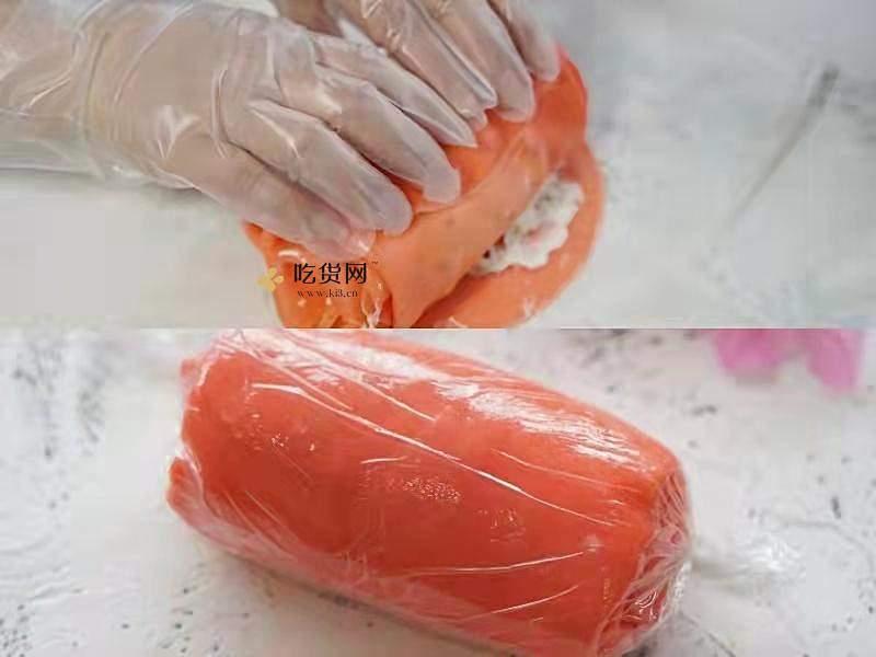 草莓毛巾卷的做法 步骤9
