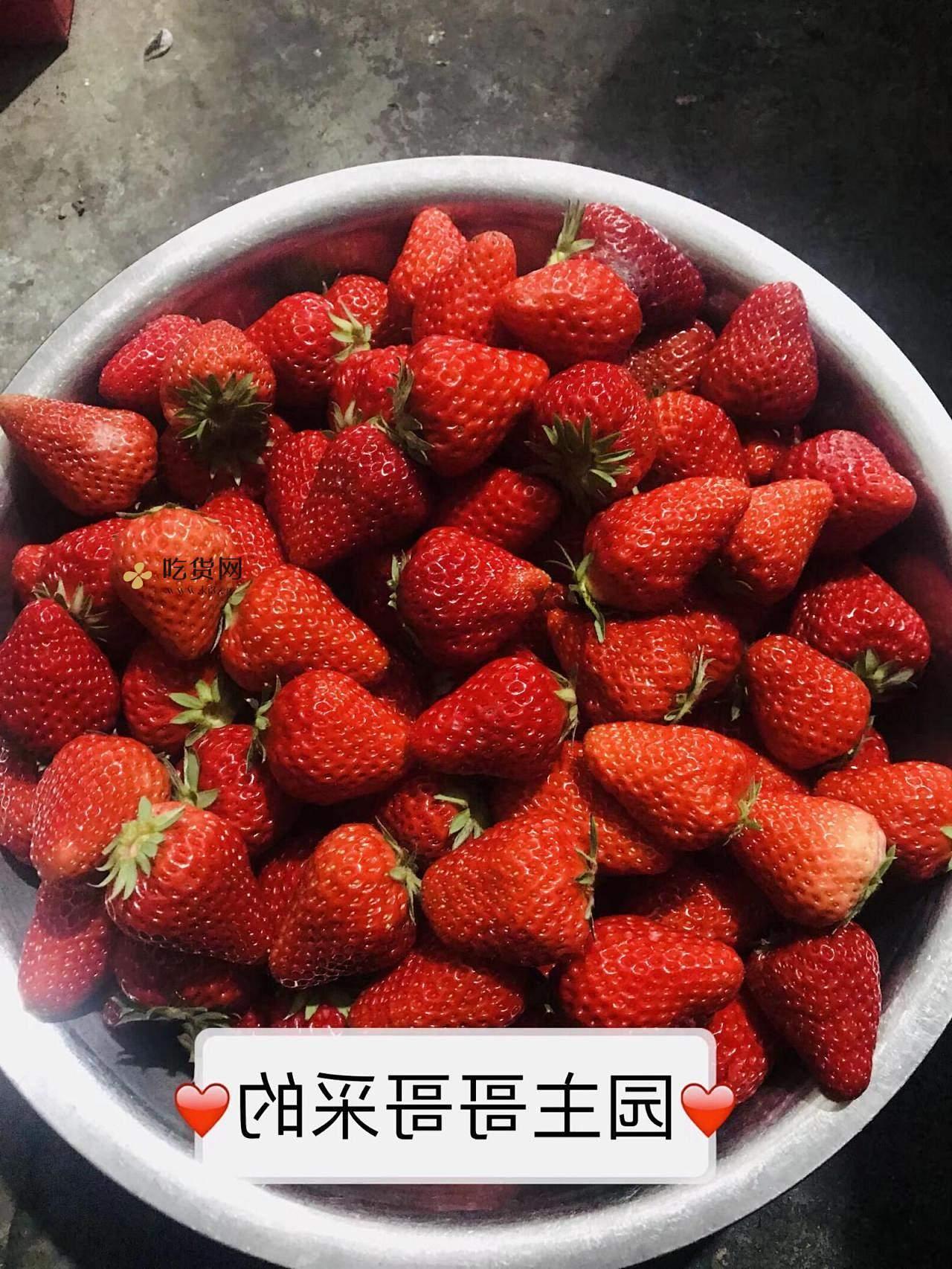 草莓酱(存放一年)的做法 步骤1