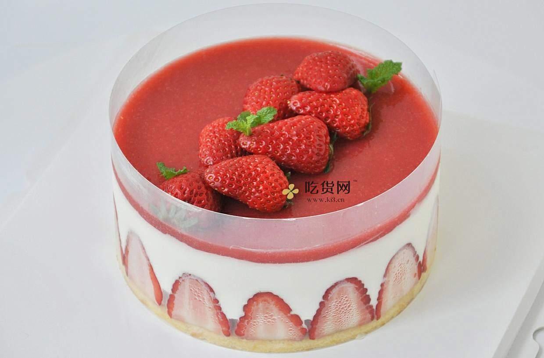 【视频】草莓慕斯蛋糕~抓住草莓季的尾巴的做法 步骤21