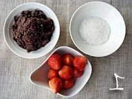 草莓大福点心的做法 步骤1