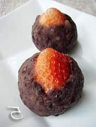 草莓大福点心的做法 步骤5