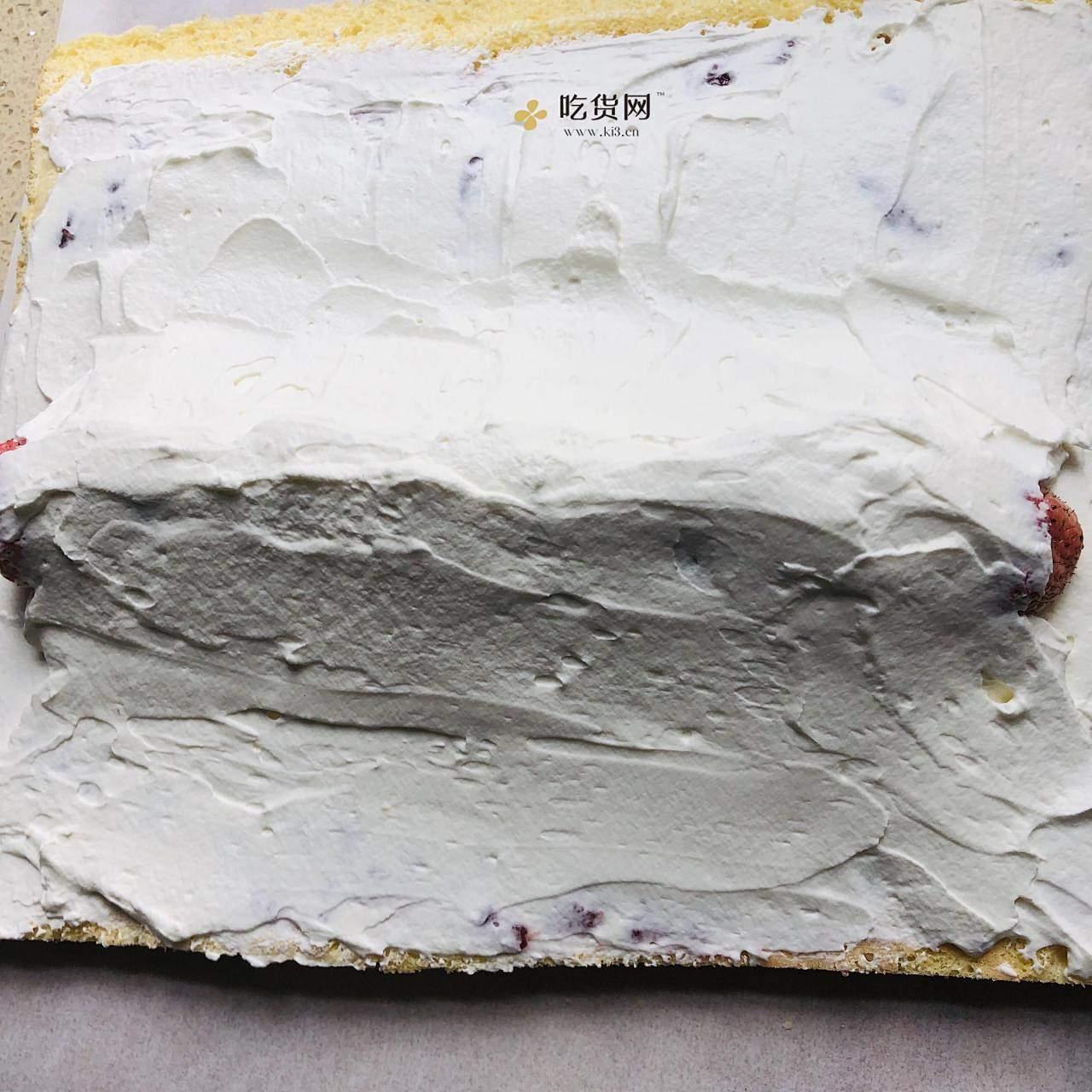 无水无油脆皮蛋糕卷的做法 步骤8