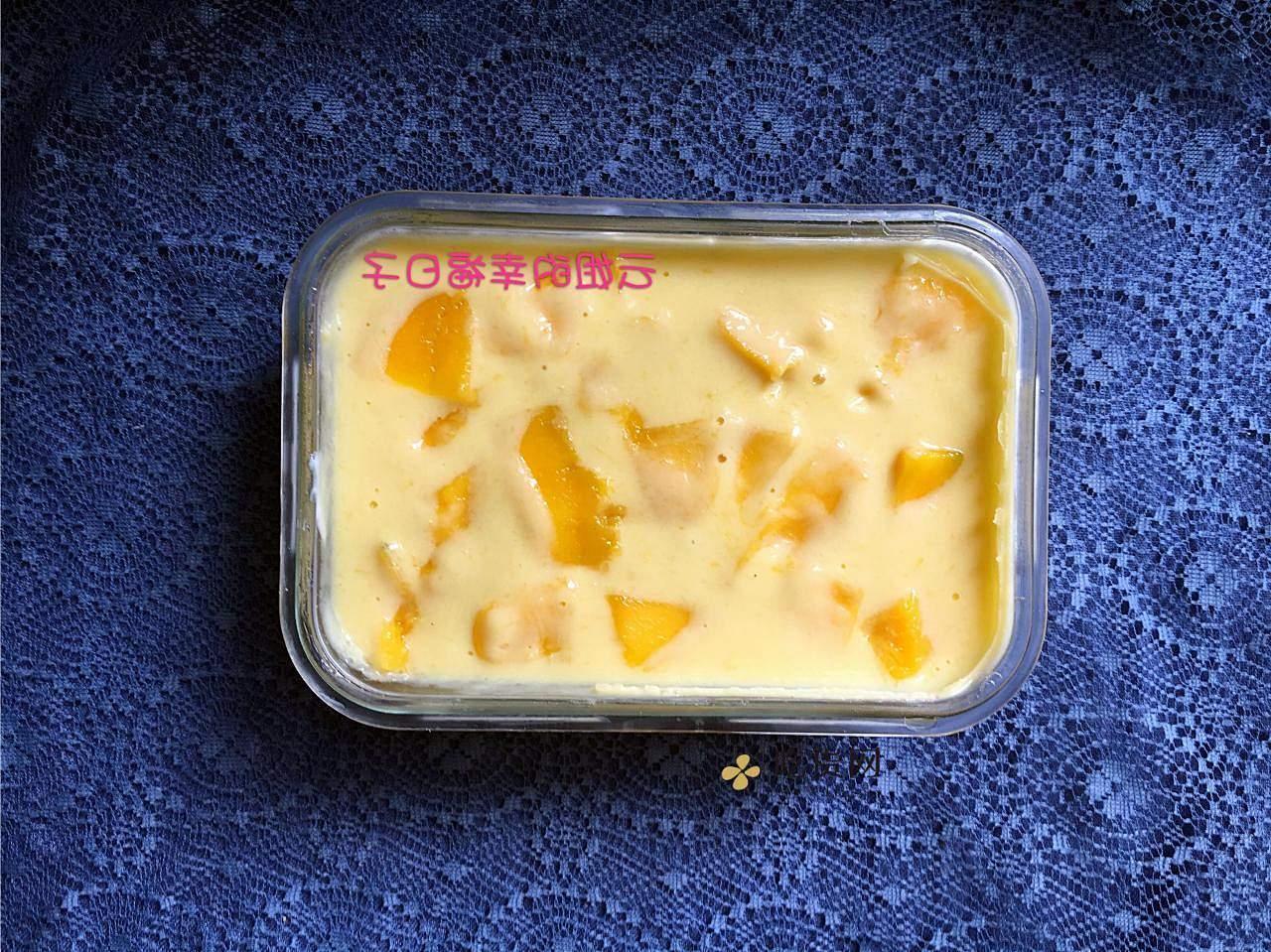 简易水果酸奶慕斯(零负担)的做法 步骤14