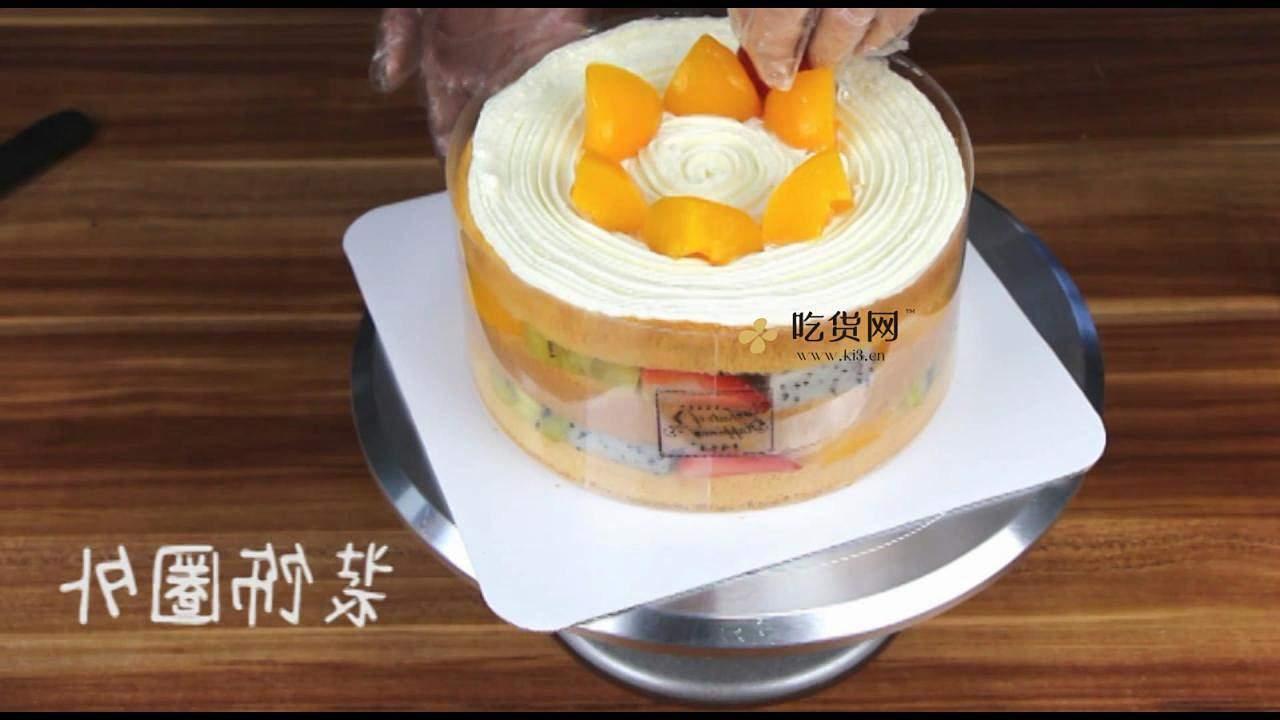 简单美味水果裸蛋糕 无需裱花技巧【视频教学】的做法 步骤15