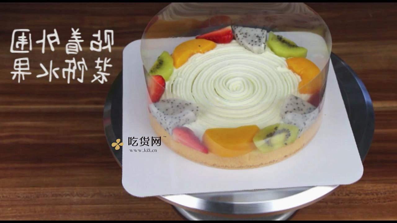 简单美味水果裸蛋糕 无需裱花技巧【视频教学】的做法 步骤7
