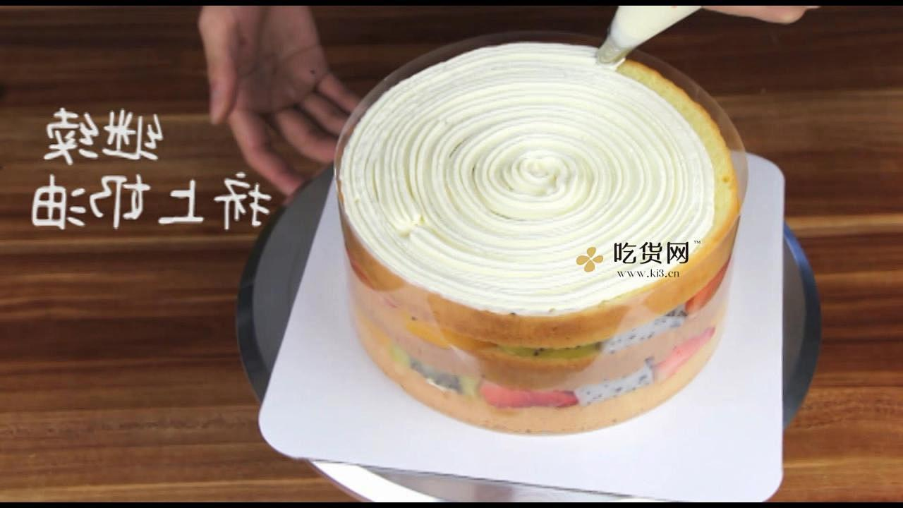 简单美味水果裸蛋糕 无需裱花技巧【视频教学】的做法 步骤14
